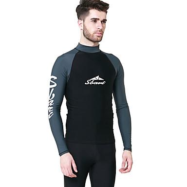 SBART Herr SPF50 UV Solskydd Snabb tork Långärmad Simmning Dykning Surfing Vår Sommar Höst