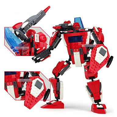 klassiska modeller byggnad leksak för barn tecknad plast byggstenar playmobil tegel pedagogiska barn leksaker