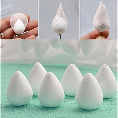 20st oval skumblomma kaka dekorera socker fondant dö verktyg