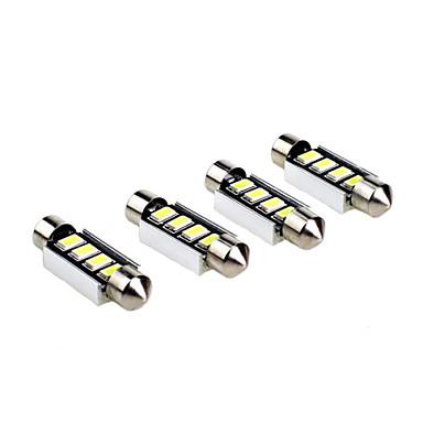 preiswerte Auto LED Lichter-Girlande SUV / Geländewagen / Traktor Leuchtbirnen 3 W SMD 5630 280 lm 4 Leselampe / Kennzeichenbeleuchtung / Seitenmarkierungsleuchte Für