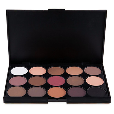 15 Colors Eyeshadow Eyeshadow Palette Powders Matte Shimmer Eye Face Matte Shimmer Glitter Shine smoky Shimmer glitter gloss Long Lasting Natural Daily Makeup Halloween Makeup Party Makeup Cosmetic