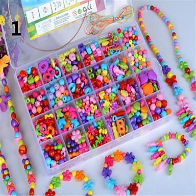 barn 24 pärlstav smycken presentförpackning