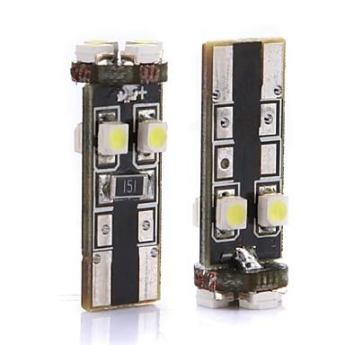 T10 Stadsjeep / Terrängfordon / Traktor Glödlampor 3.2 W SMD 3528 310 lm 8 Instrumentbelysning / Läslampa / Nummerplåtsbelysning Till