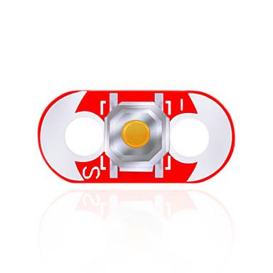 keyes lilypad wearable knapp modul (röd)