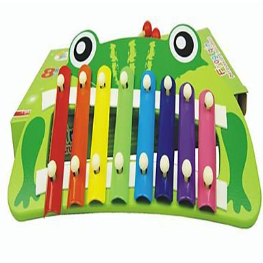 bebis födelsedagspresent förmåns barn vet groda musik på piano leksaker