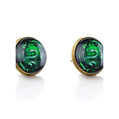 levne Dámské šperky-Dámské Peckové náušnice Haç Had dámy minimalistický styl Náušnice Šperky Bronzová Pro Svatební Párty Denní Ležérní