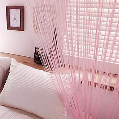 gardiner draperier En panel W99cm×L200cm Gul / Vardagsrum