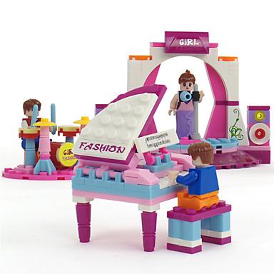 Byggklossar Militära block Byggsats Leksaker 229 pcs Piano Soldier kompatibel Legoing Originella Klassisk & Tidlös Pojkar Flickor Leksaker Present / Utbildningsleksak