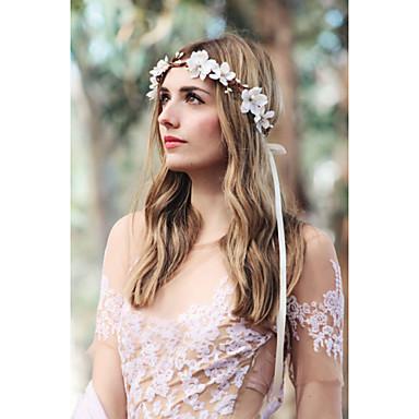 levne Dámské šperky-Dámské Elegantní Látka Čelenky Fascinators Šperky - čelenky Svatební Párty