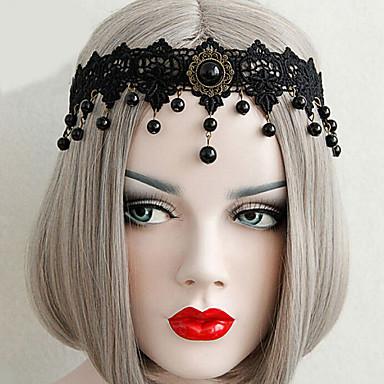 Bijoux Gothique Coiffure Inspiration Vintage Noir Lolita Accessoires