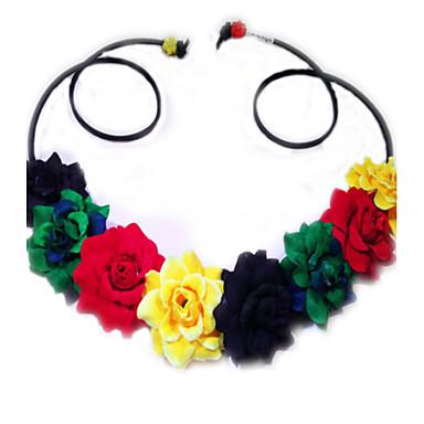 boho wedding Rasta Flower Headband 8ac9fd7bc90