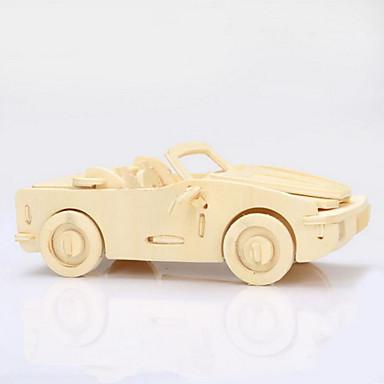 levne 3D puzzle-Dřevěné puzzle Dřevěný model Auto 3D Dřevo Dárek