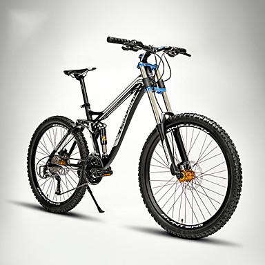 [€333.75] Vélo tout terrain Cyclisme 24 Vitesse 26 pouces/700CC EF-51-8 Frein à Double Disque Fourche de suspension Double Suspension Cadre Softail
