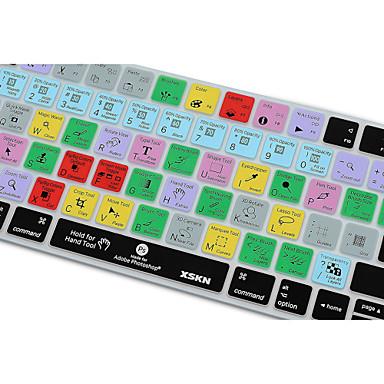 XSKN photoshop cc kortkommandot täcka silikonhölje för magiska tangentbord 2015 version, oss layout