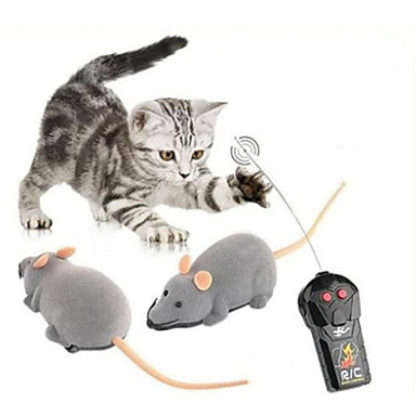 cheap Novelty RC Toys-Remote Control RC Building Block Kit Animal Mouse Remote Control / RC Walking 1 pcs Classic Toy Gift