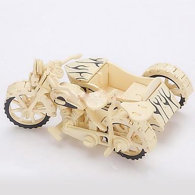 voordelige 3D-puzzels-Speelgoedauto's 3D-puzzels Legpuzzel Moto Simulatie Hout Motorfietsen Speeltjes Geschenk