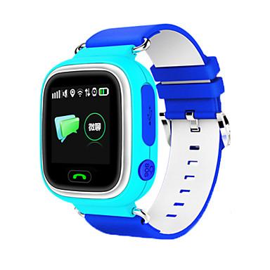 levne Pánské-Pánské Sportovní hodinky Módní hodinky Náramkové hodinky Digitální Pryž Modrá / Růžová LED GPS Cool Digitální Oranžová Modrá