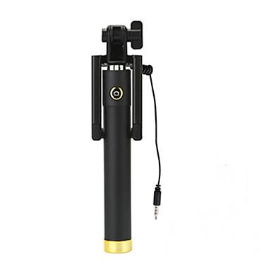 trådbunden selfie stick monopod universal för iphone 8 7 samsung galax s8 s7 för ios / android telefon huawei xiaomi nokia