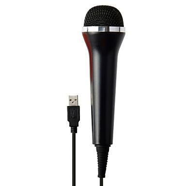 preiswerte Xbox 360 Zubehör-Mit Kabel Mikrofon Für Xbox 360 / PS4 / Wii . Mikrofon Metal / ABS 1 pcs Einheit