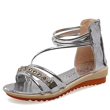 cbaa6f94dde2f Women s Shoes Wedge Heel Wedges   Gladiator Sandals Party   Evening   Dress    Casual Silver