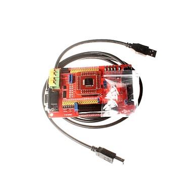 MSP430 utvecklingsarbete MSP430F149 mikro minsta systemkortet kämkortet färgskärm med usb dataöverföring