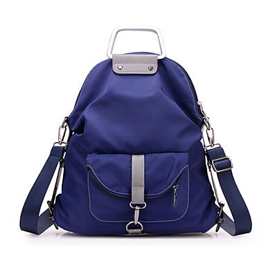 Women s Bags Nylon Backpack School Bag Sports   Leisure Bag Shoulder Bag  for Event Party Shopping Casual Sports Fall Black Purple Blue 4931546 2019  –  22.99 9036f64699288