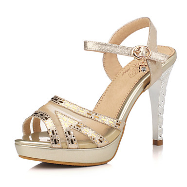 8756a7f5394 Women s Shoes Stiletto Heel Heels   Peep Toe   Platform Sandals Wedding    Party   Evening   Dress Silver   Rose Gold 4946505 2019 –  37.99