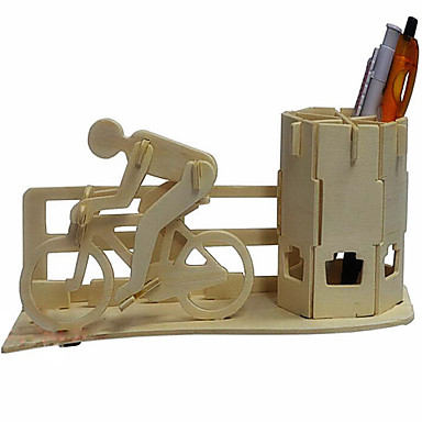levne 3D puzzle-3D puzzle Dřevěné puzzle Kolo Pen Kontejner Dřevo Hračky Dárek
