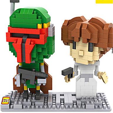 Byggklossar Militära block LOZ Diamond Blocks Soldier kompatibel Legoing GDS (Gör det själv) Pojkar Flickor Leksaker Present / Utbildningsleksak