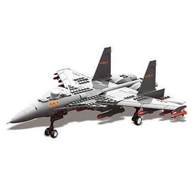 WAN GE Byggklossar Militära block Modellbyggset 1 pcs Soldier kompatibel Legoing Pojkar Flickor Leksaker Present / Utbildningsleksak