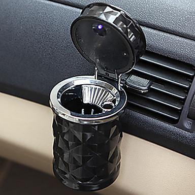 billige Organisasjon til bilen-ført lett bil askebeger brannsikkert materiale lett ren bil askebeger passer til de fleste auto bil koppholder biltilbehør