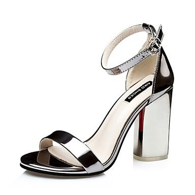 Γυναικεία παπούτσια-Πέδιλα-Καθημερινά-Χοντρό Τακούνι-Με Τακούνι-Δερματίνη-Μωβ    Ασημί   Γκρι   Χρυσό   Σαμπανιζέ 4994847 2019 –  27.99 ed4c293b7b4