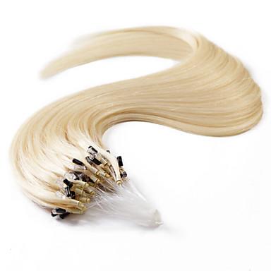 voordelige Extensions van echt haar-neitsi® 20inch 50s / lot 50g micro ring loops human hair extensions ringen menselijk haar