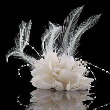 povoljno Party pokrivala za glavu-Kristal / Perje / Tekstil tijare / Fascinators / Cvijeće s 1 Vjenčanje / Special Occasion / Zabava / večer Glava