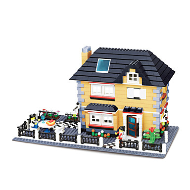 WAN GE Byggklossar Byggsats Leksaker Utbildningsleksak 1 pcs kompatibel Legoing Pojkar Flickor Leksaker Present