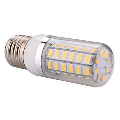ywxlight® e14 e27 500lm 5730smd 60led led spotlight varm vit cool vit ledd majsljus hem ljuskrona ac 110-130v AC 220-240v
