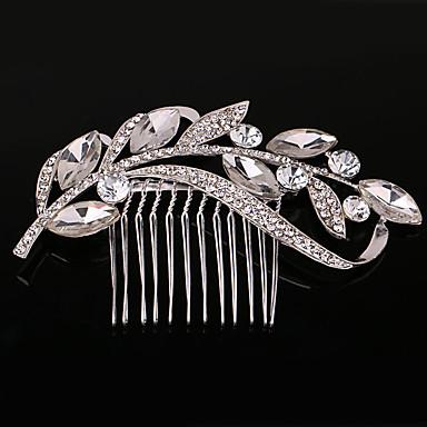 levne Dámské šperky-Dámské Party Svatba Křišťál / imitace drahokamu Křišťál Napodobenina perel Hřebeny na vlasy Svatební Párty