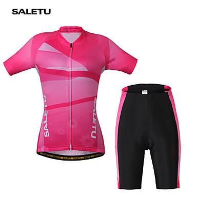 5b070c639aaf Ποδήλατο/Ποδηλασία θερμοκοιτίδων Arm / Αθλητική μπλούζα / Ζέρσεϊ + Σορτς /  Σετ Ρούχων/Κοστούμια Γυναικεία ΚοντομάνικοΑναπνέει / Γρήγορο 4966749 2019 –  ...
