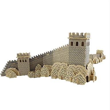 levne 3D puzzle-3D puzzle Dřevěné puzzle Dřevěný model Čínské stavby Dřevo Chlapecké Dívčí Hračky Dárek