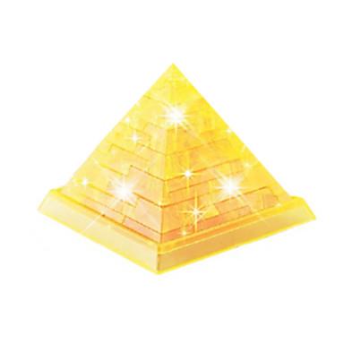 levne 3D puzzle-Stavební bloky 3D puzzle Puzzle Věž Slavné stavby Udělej si sám Křišťál ABS Hračky Dárek