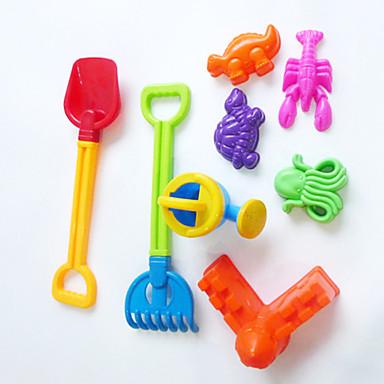 sommar leksaker strand leksaker verktygskombination (8st)
