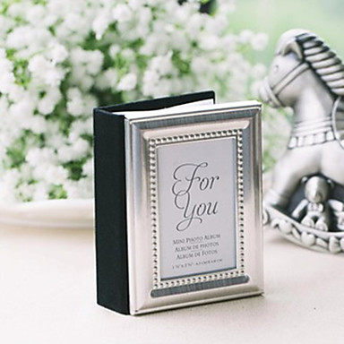 20th Wedding Anniversary Mini Photo Album Favor Place Card Holder