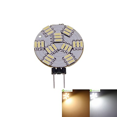 SENCART 1st 2 W LED-spotlights 3000-3500/6000-6500 lm G4 MR11 27 LED-pärlor SMD 4014 Bimbar Varmvit Naturlig vit 12 V / 5 st / RoHs