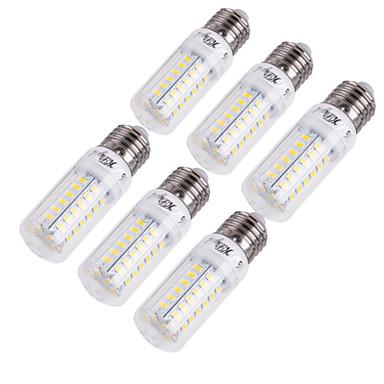 cheap Light Bulbs-YouOKLight 6pcs 15 W LED Corn Lights 1350 lm E14 E26 / E27 T 56 LED Beads SMD 5730 Decorative Warm White Cold White 220-240 V 110-130 V / 6 pcs / RoHS