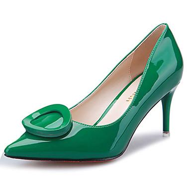 6384e86f54 Magassarkú-Stiletto-Női cipő-Magassarkú-Alkalmi-Gyapjú-Fekete / Zöld /  Piros / Ezüst / Narancssárga 4982448 2019 – $24.99