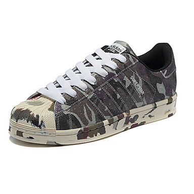 kup najlepiej oryginalne buty wyprzedaż w sprzedaży [$72.09] Adidas Originals Superstar Obówie do biegania / Buty do jazdy na  deskorolce Męskie Wearproof Zielony / Niebieski / Brązowy / Kamuflaż