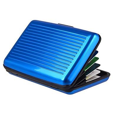 preiswerte Wasserdichte Taschen-Unisex Knöpfe PVC Bankkarten & Ausweis Tasche Rot / Grün / Blau
