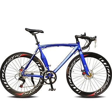 povoljno Bicikli-Cestovni bicikli Biciklizam 14 Brzina 26 inča / 700CC Shimano TX30 Dvostruka disk kočnica Običan Monocoque Običan Aluminijska legura / Čelik / #
