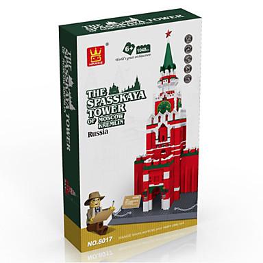 WANTOY Byggklossar Byggsats Leksaker Utbildningsleksak 1 pcs kompatibel Legoing Pojkar Flickor Leksaker Present