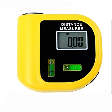 levne Vodováhy-elektronický laserový dálkoměr Tester s digitálním LCD displej (rozsah: 2 ~ 60 stop, + / - 5%)